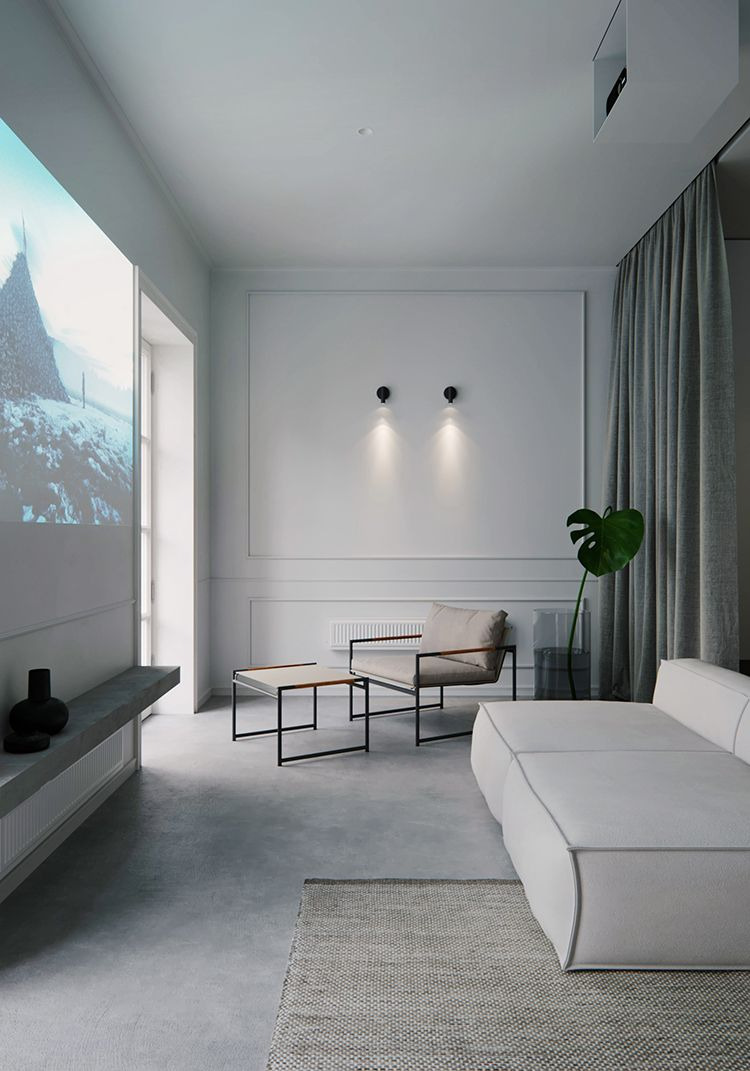 Minimalist Interior Design Small Apartment Lovely Eclectic Minimalistic Apartment In 2020