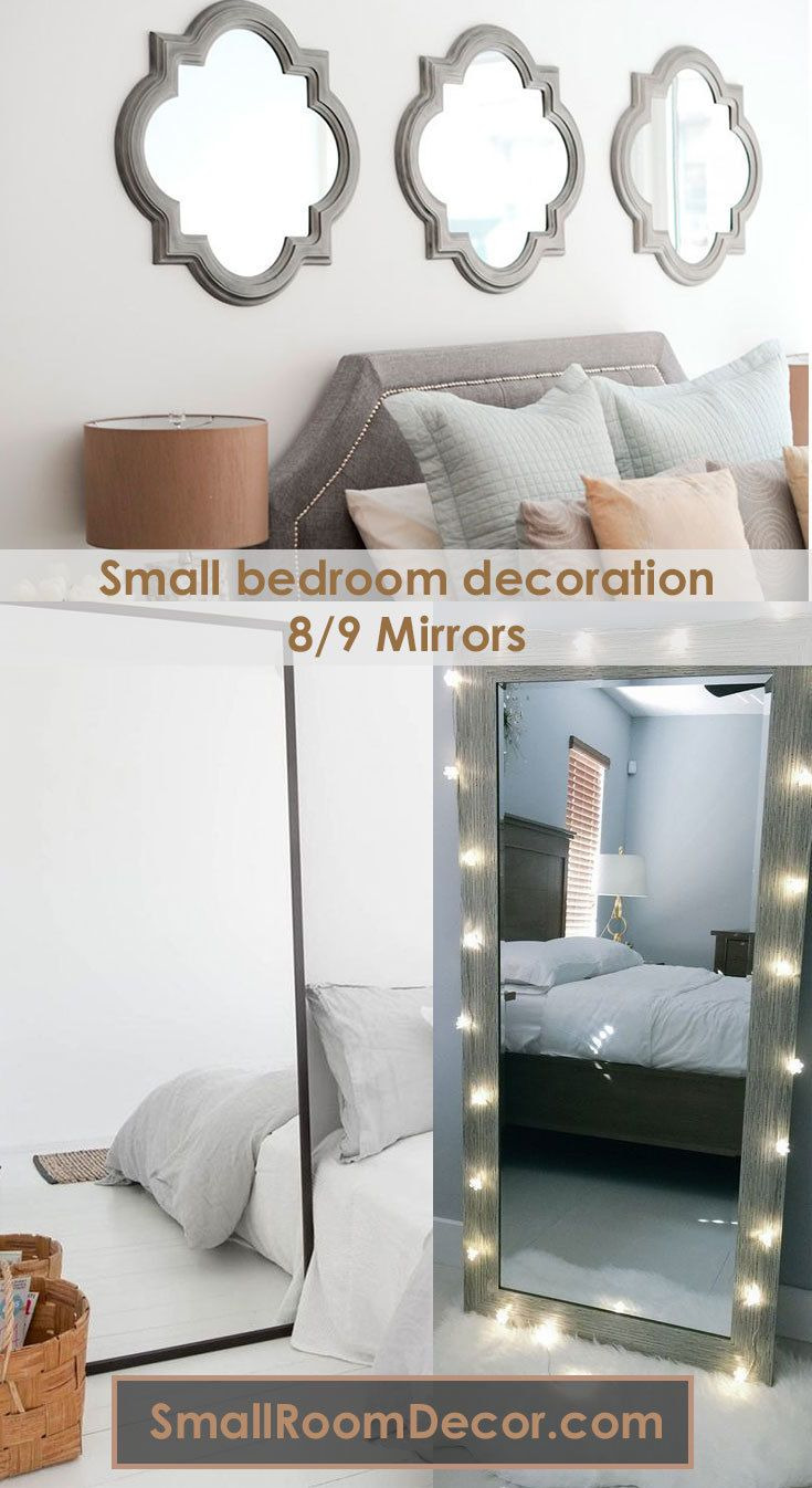 Mirror Ideas for Small Bedroom Inspirational 9 Modern Small Bedroom Decorating Ideas