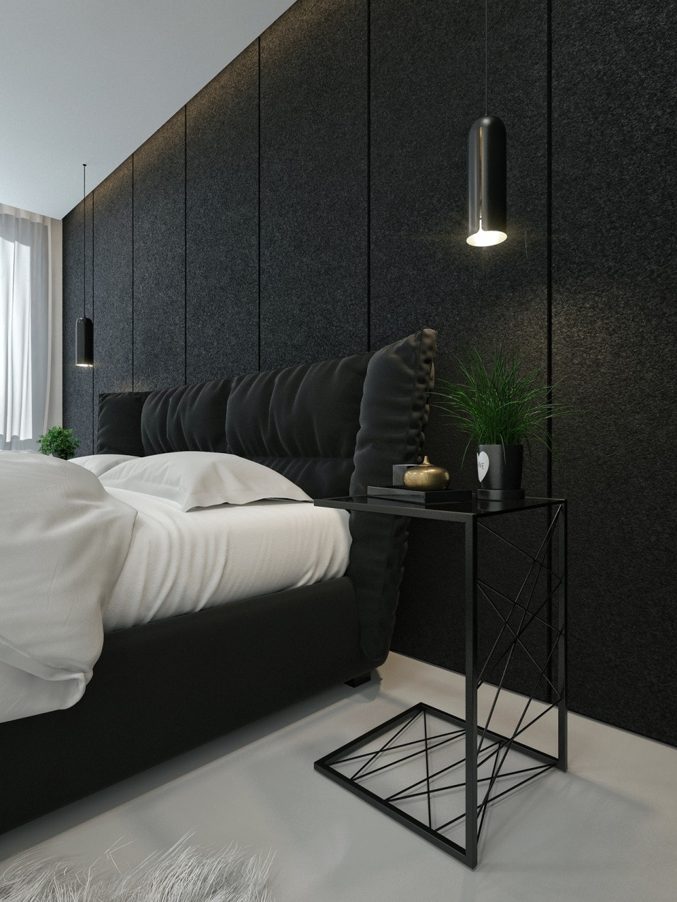 modern black and white bedroom black and white interior design ideas modern apartment by from modern black and white bedroom