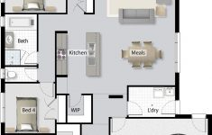 Modern Efficient House Plans New It Nook Shown On Floor Plan