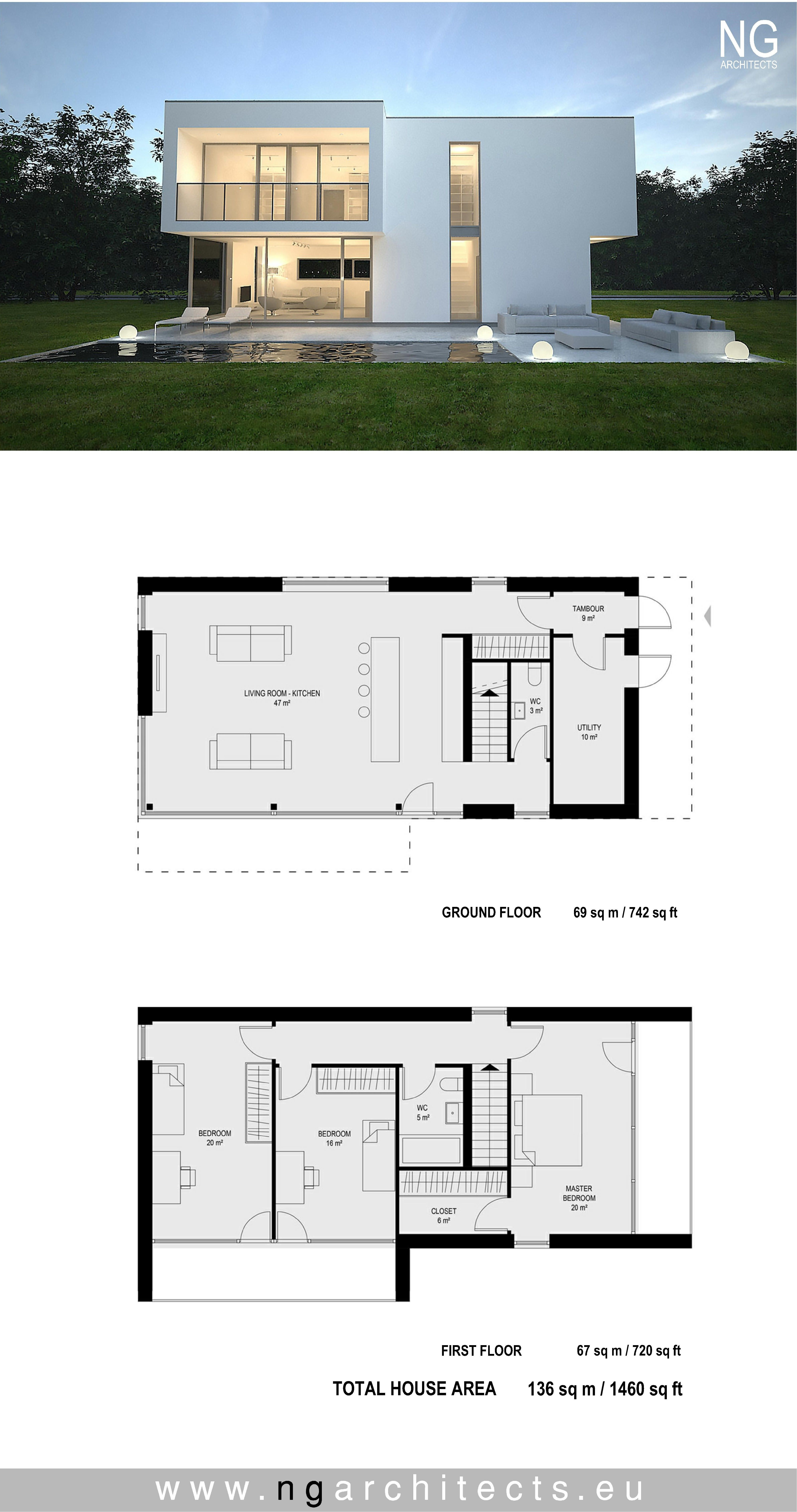Modern Home Architecture Plans Lovely Pin On Modern House Plans
