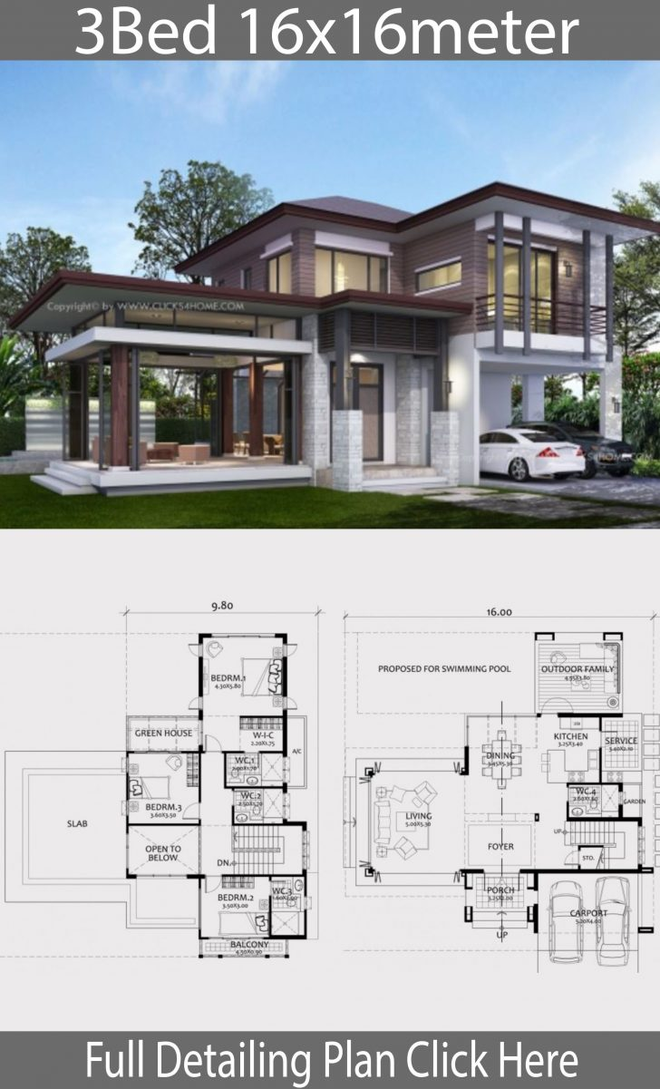 Modern Home Building Plans 2021