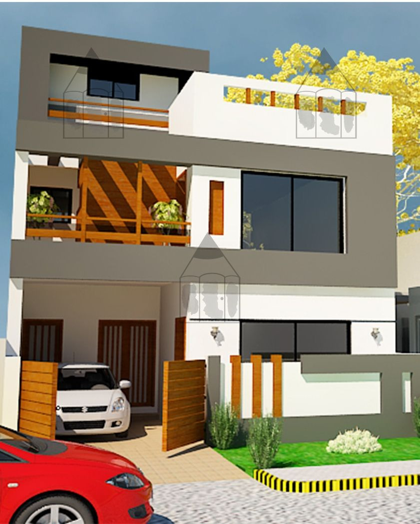 Modern Home Front View Design Fresh 5 Marla House Design Pictures Front View Kumpalo