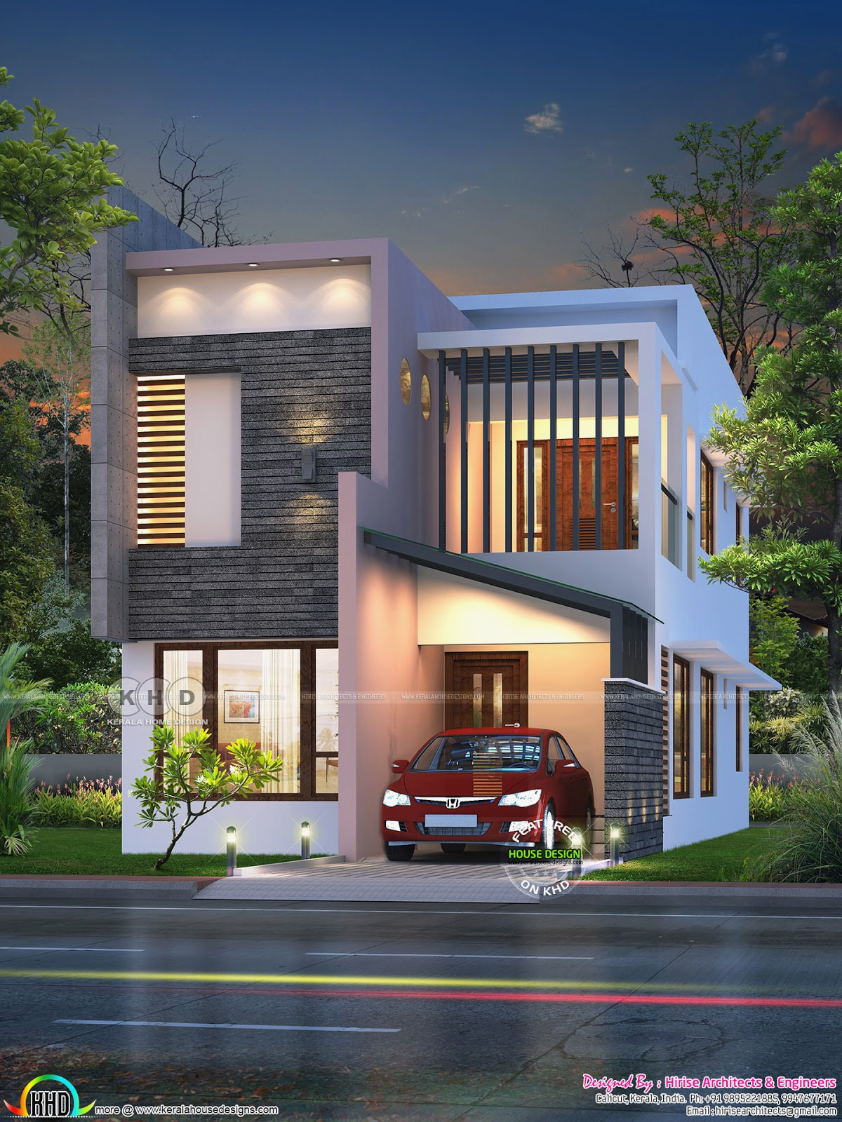 ultra modern homes floor plans fresh 1460 sq ft feet small ultra modern double storied house kerala home design and floor plans