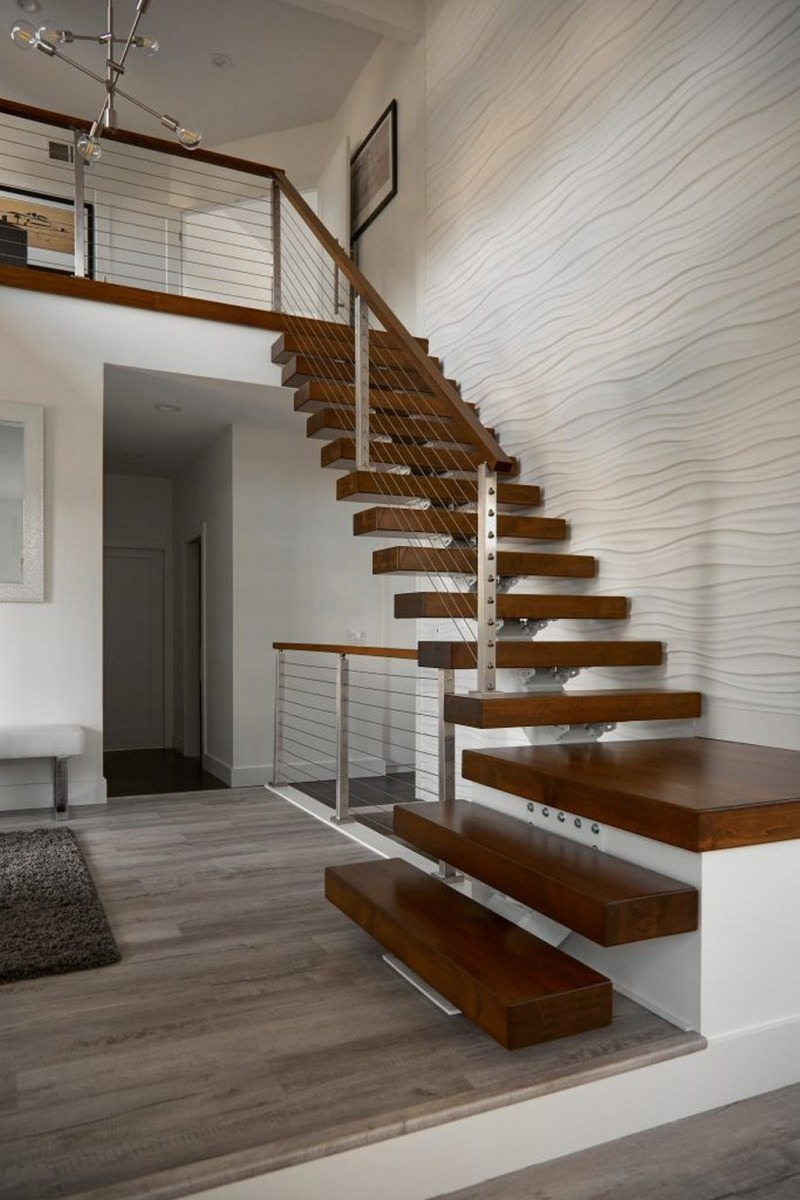 90 Most Popular Modern House Stairs Design Models 38