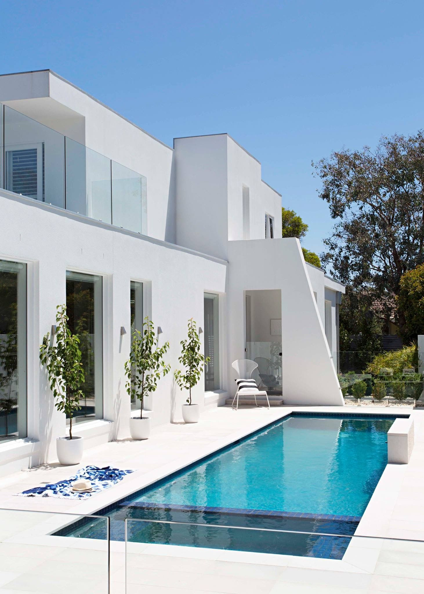 Modern House Plans with Pool Awesome Cro asian