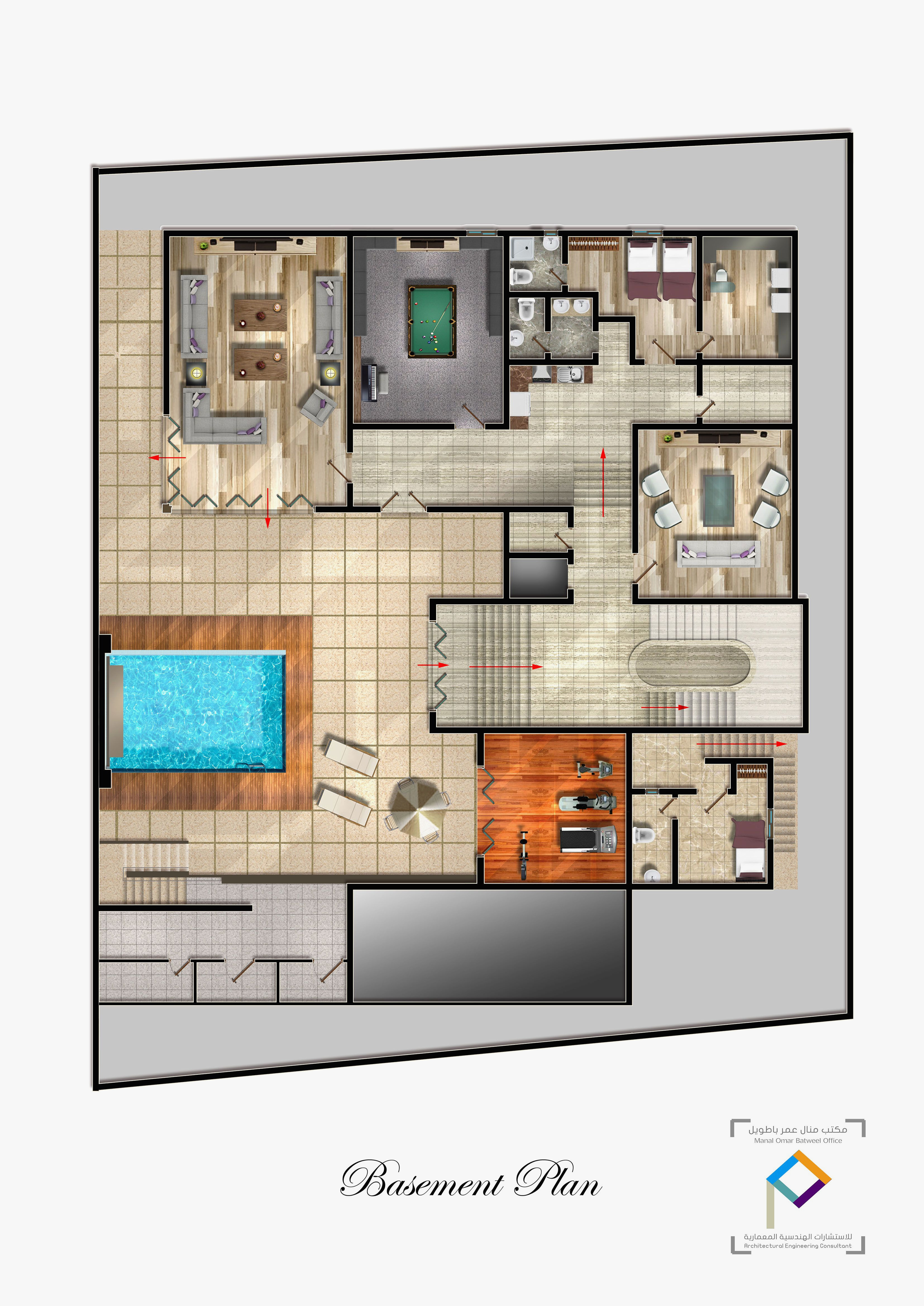 Modern House Plans with Pool Inspirational Modern House Floor Plans with Swimming Pool Elegant Basement