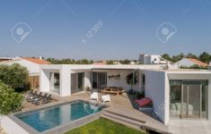 Modern House With View Fresh Stock