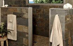 Modern Shower Designs Without Doors Elegant Rustic Farmhouse Style Bathroom Remodel Ideas 32