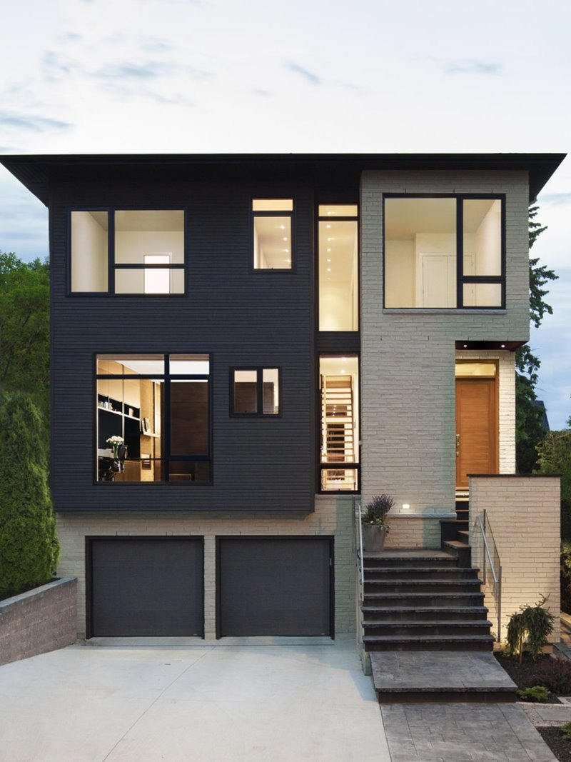 Modern Two Story Homes Beautiful Paint Color Bination for 2 Story House 2020 Ideas