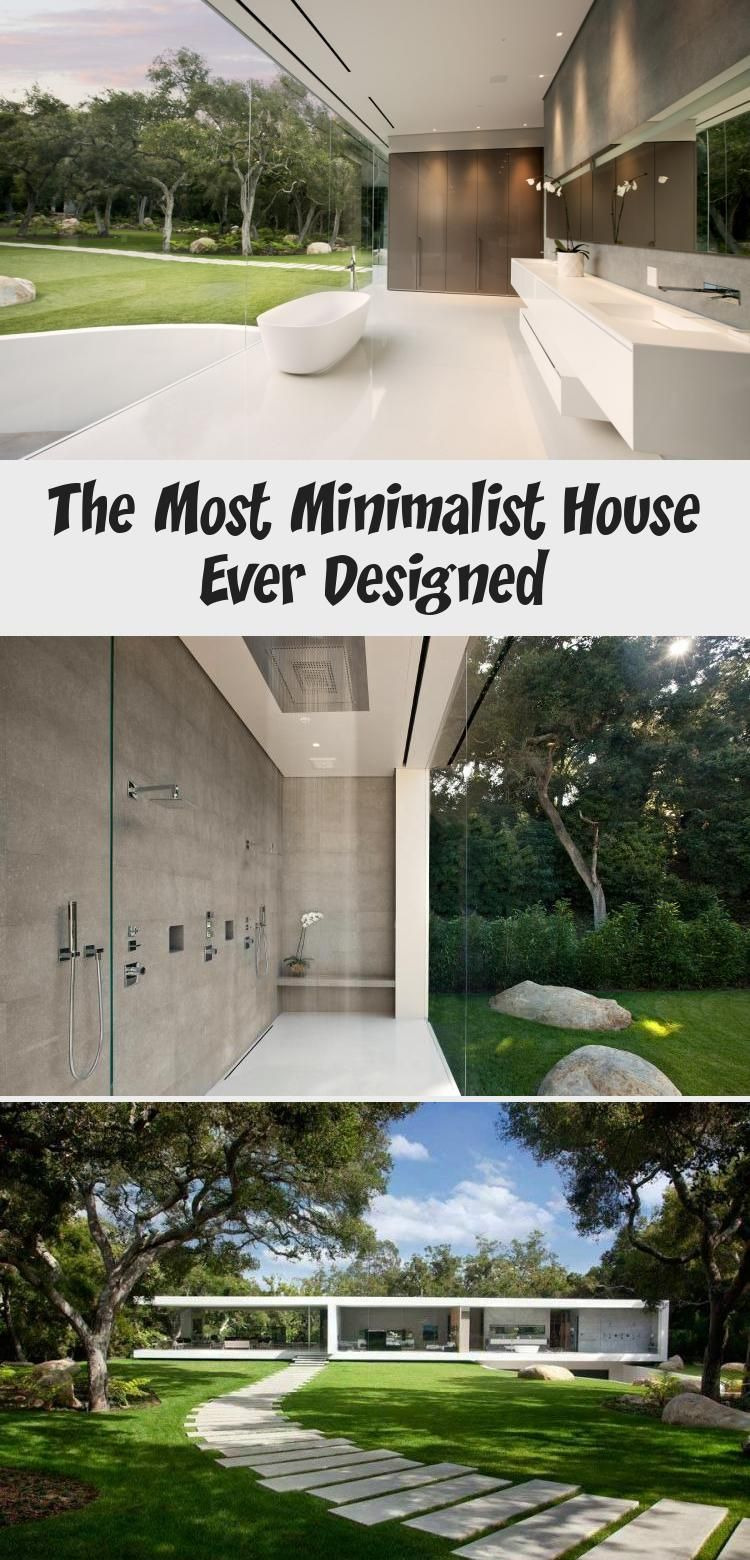 Most Modern House Ever Lovely the Most Minimalist House Ever Designed In 2020