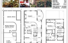 Narrow Width House Plans Lovely This Narrow House Plan Has 2945 Square Feet Of Living Space