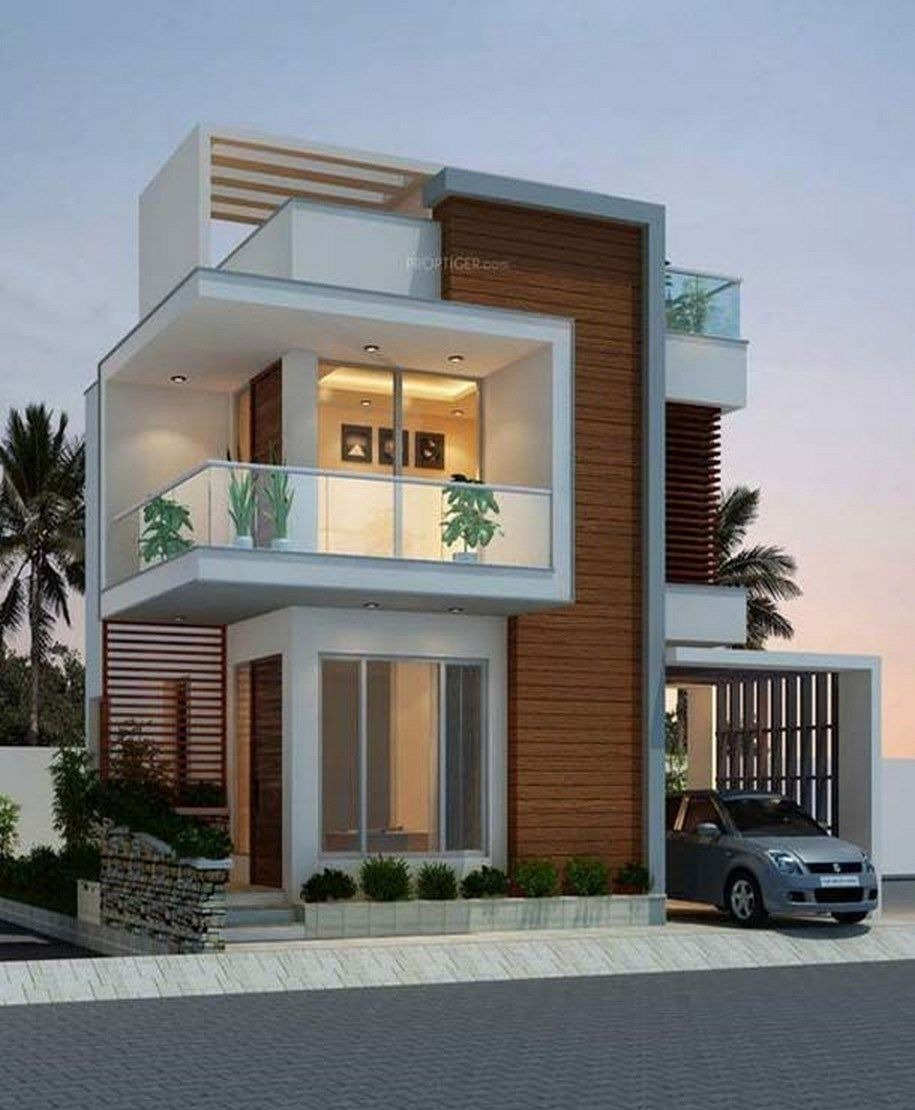 New Modern House Design Beautiful ✓ 39 New Modern Exterior Design Ideas for Your House 22