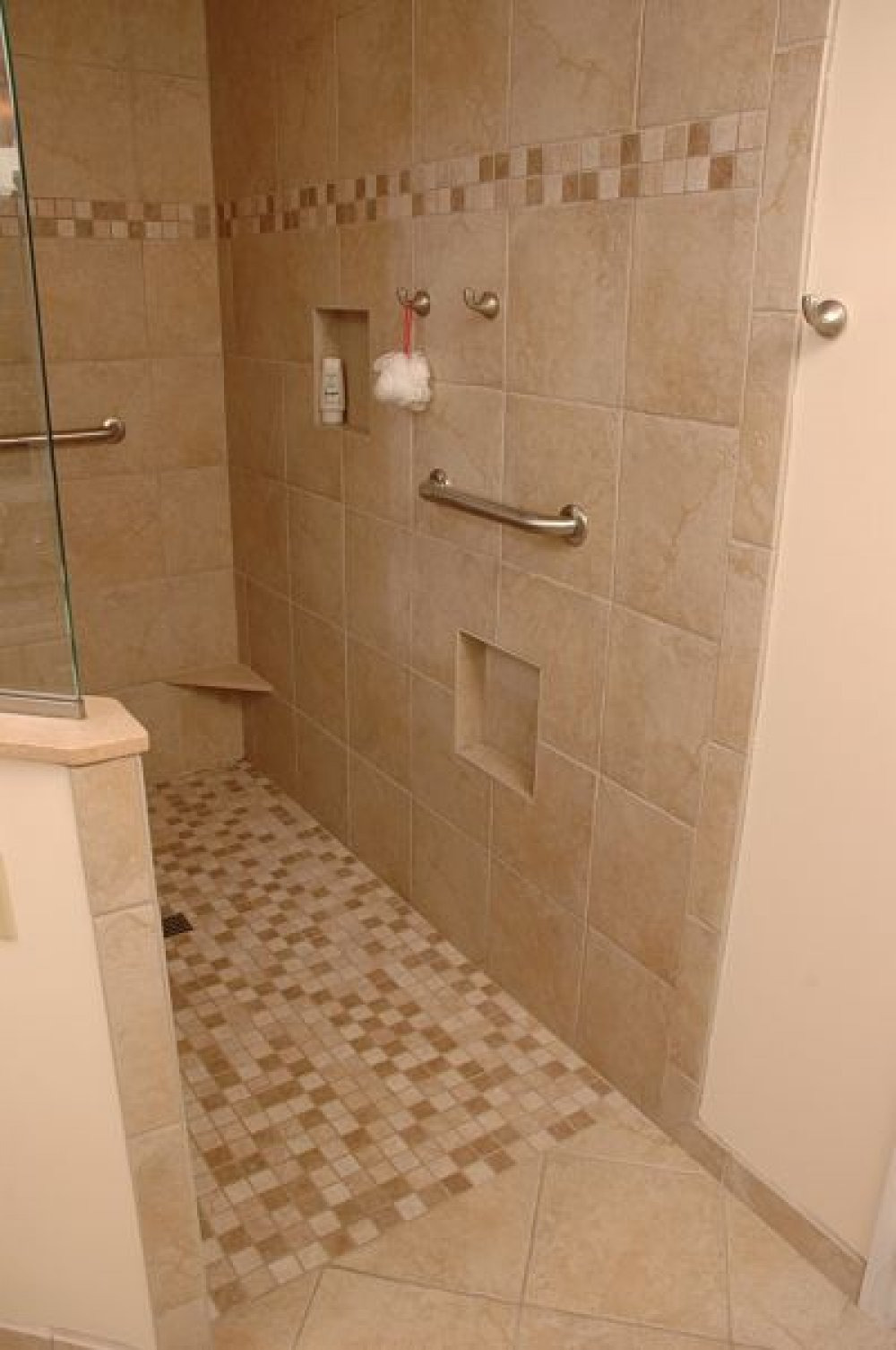 incredible doorless walk in shower ideas