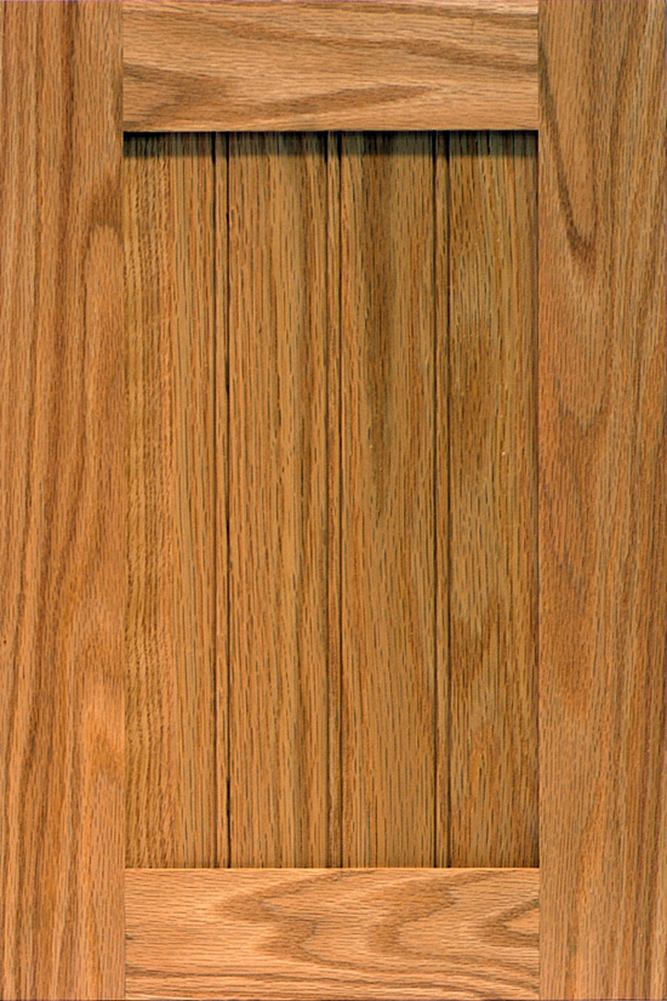 shaker bead red oak