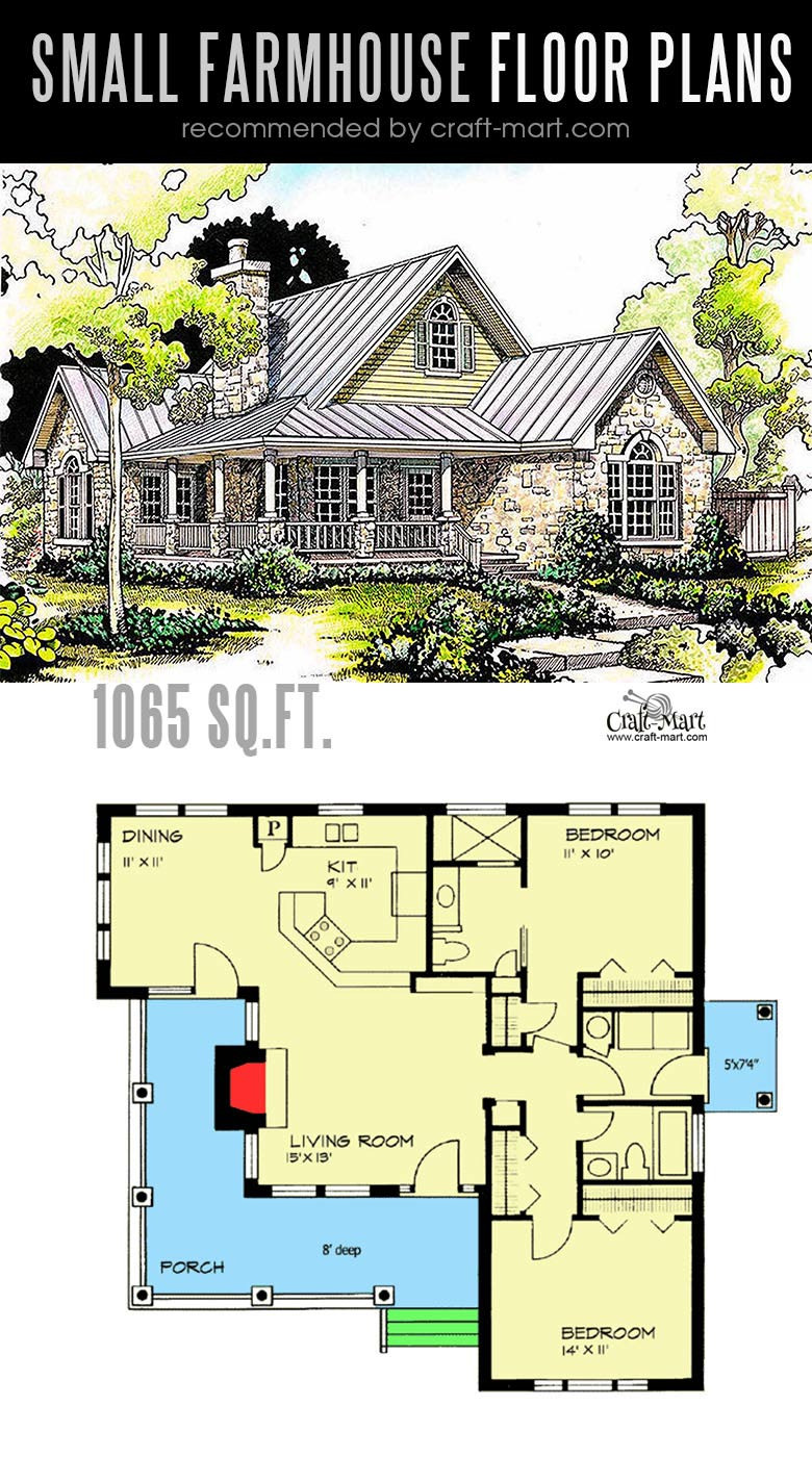 One Level Country House Plans Best Of Small Farmhouse Plans for Building A Home Of Your Dreams