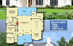 One Level Country House Plans Elegant Plan D E Level Country House Plan With Bonus Room