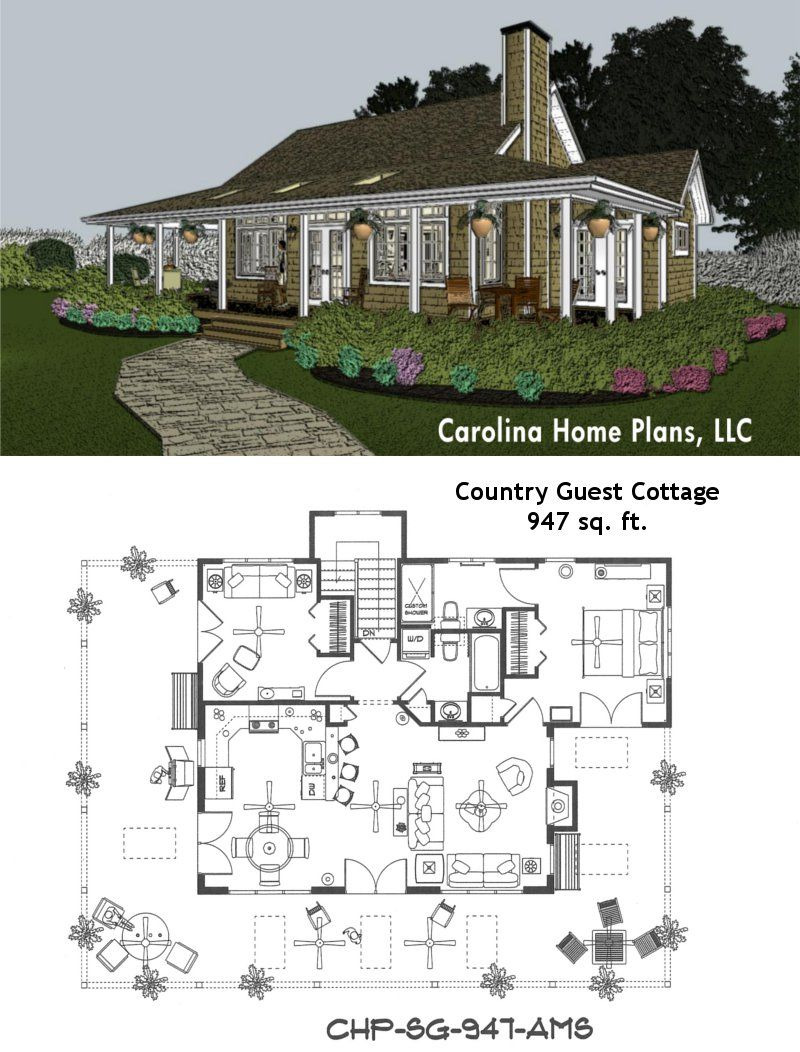 One Level House Plans with Porch Unique Small Cottage Home Plans with Wrap Around Porch