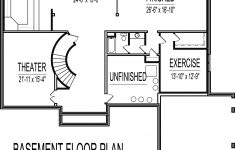 One Story House Plans With Finished Basement New 4500 Square Foot House Floor Plans 5 Bedroom 2 Story Double