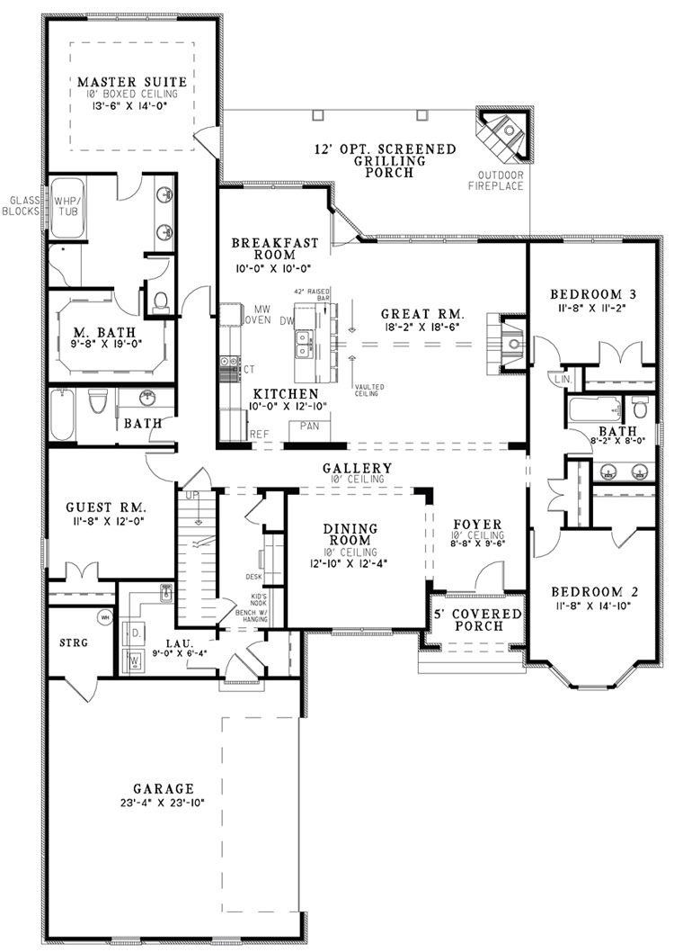 One Story Open House Plans New the House Designers Design House Plans for New Home Market