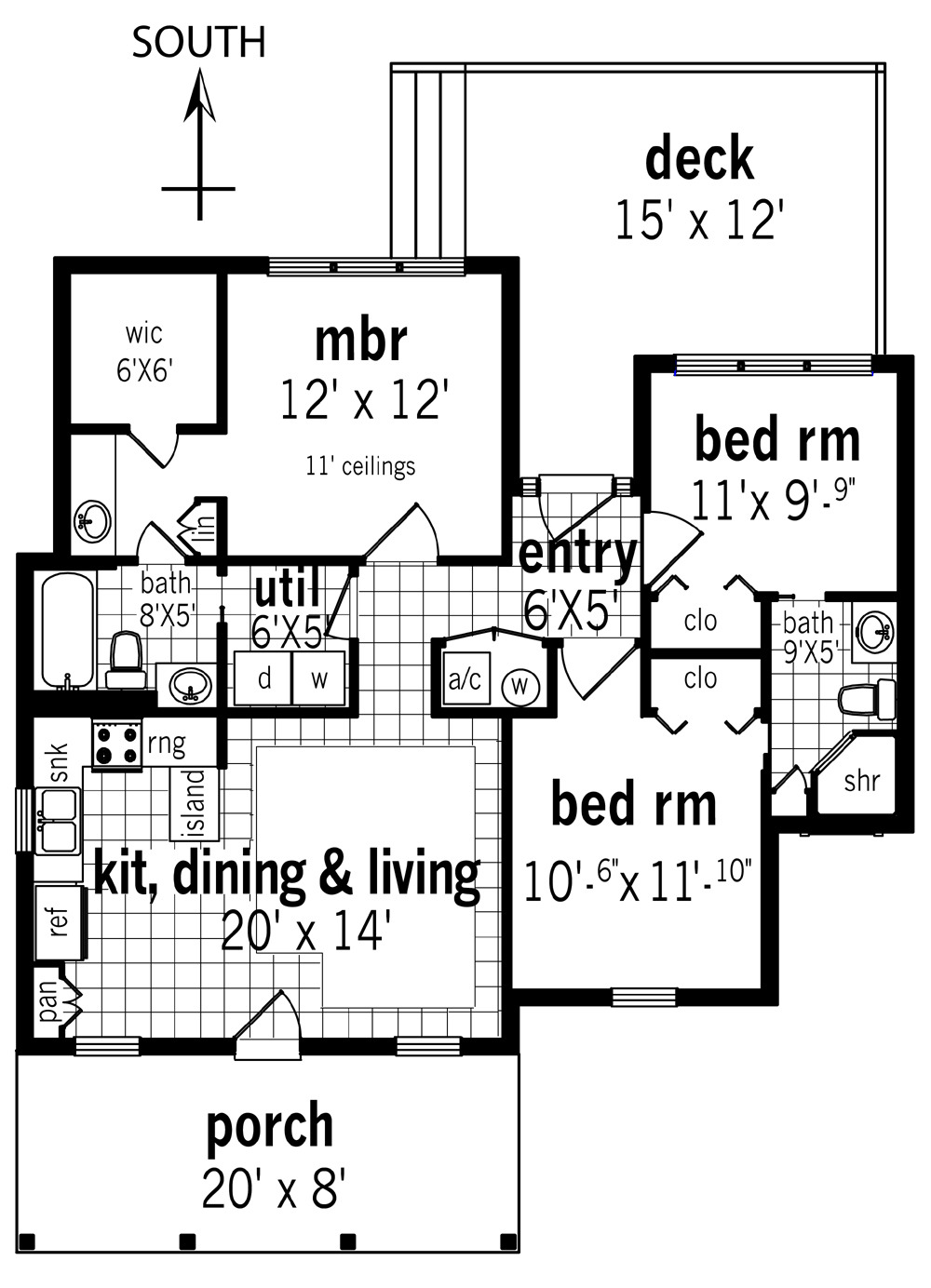Open Floor Plan House Plans with Photos Inspirational Cottage House Plan with 3 Bedrooms and 2 5 Baths Plan 3162