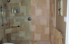 Pictures Of Bathroom Showers Without Doors Awesome Open Shower No Door With Images