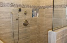 Pictures Of Bathroom Showers Without Doors Best Of Travertino Walk In Shower