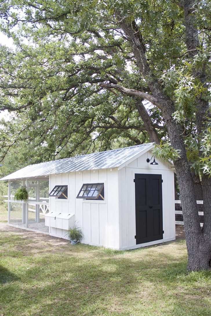 Plans for A Chicken House 2020