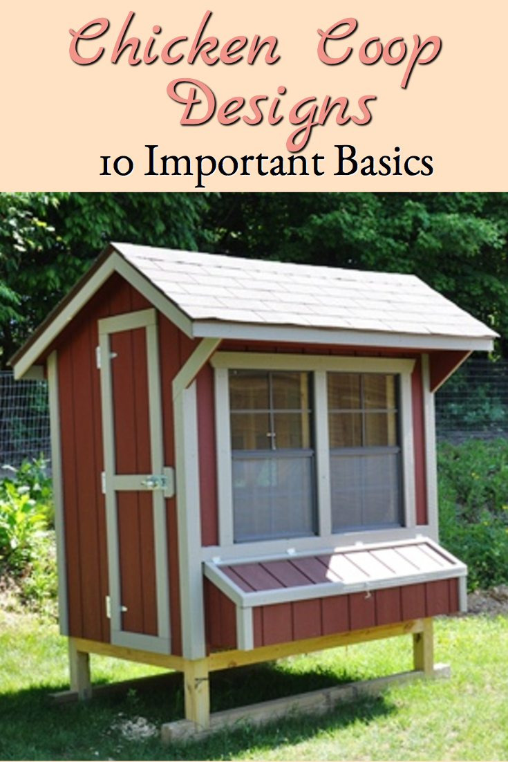 chicken coop designs 10 important features