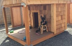 Plans For Dog Houses Awesome This One Will Work