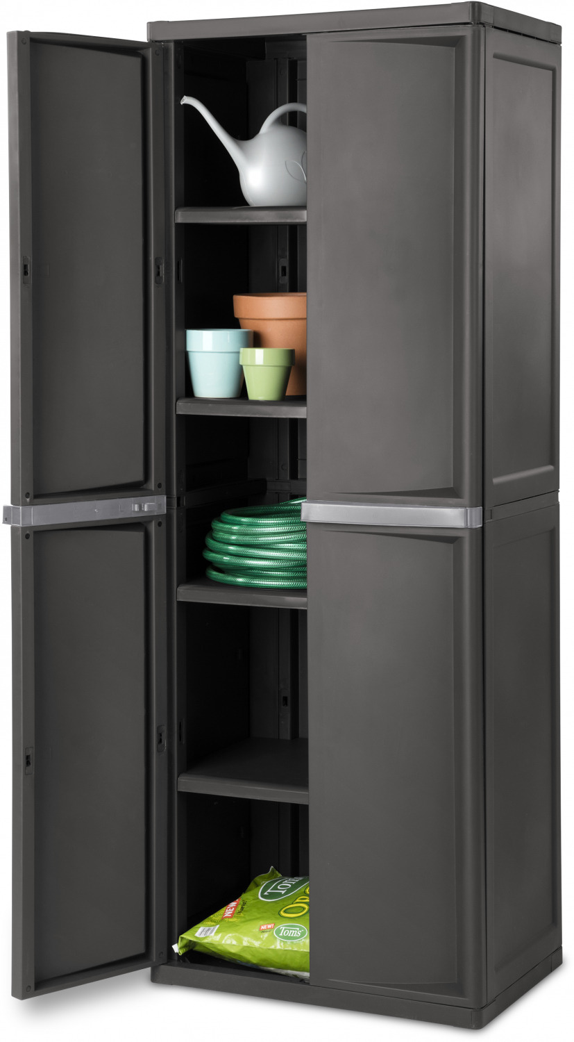 Cabinets and Cupboards o Cupboards Outdoor Storage Cabinet Plastic Cupboard Shed Garage