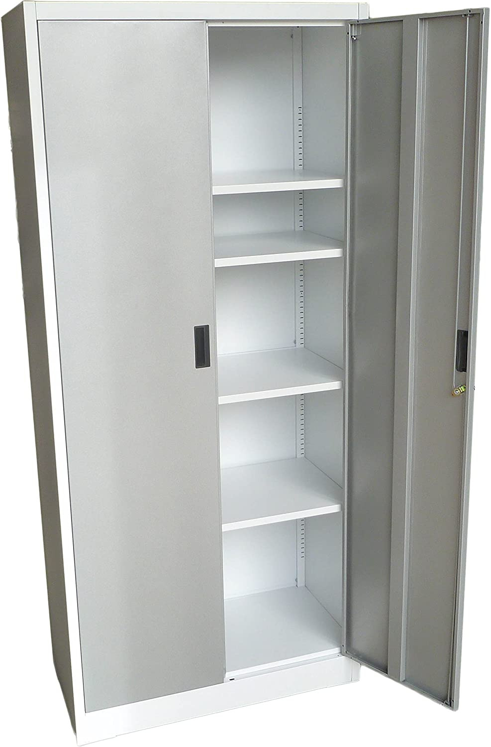 """Plastic Storage Cabinets with Doors Unique Fedmax Metal Storage Cabinet 71"""" Tall Lockable Doors and Adjustable Shelves 70 86"""" Tall X 31 5"""" W X 15 75"""" D Great Steel Locker for Garage Kitchen"""