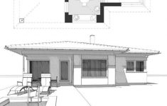Prefab House Floor Plans New Floor Plan Of A Modern Prefabricated House With Hipped Roof