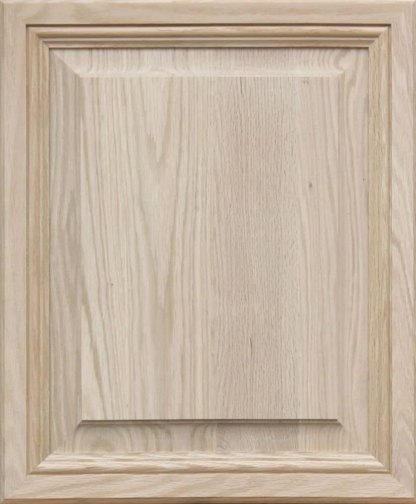 Raised Panel Cabinet Doors Lovely Unfinished Oak Mitered Raised Panel Cabinet Door by Kendor 23h X 19w