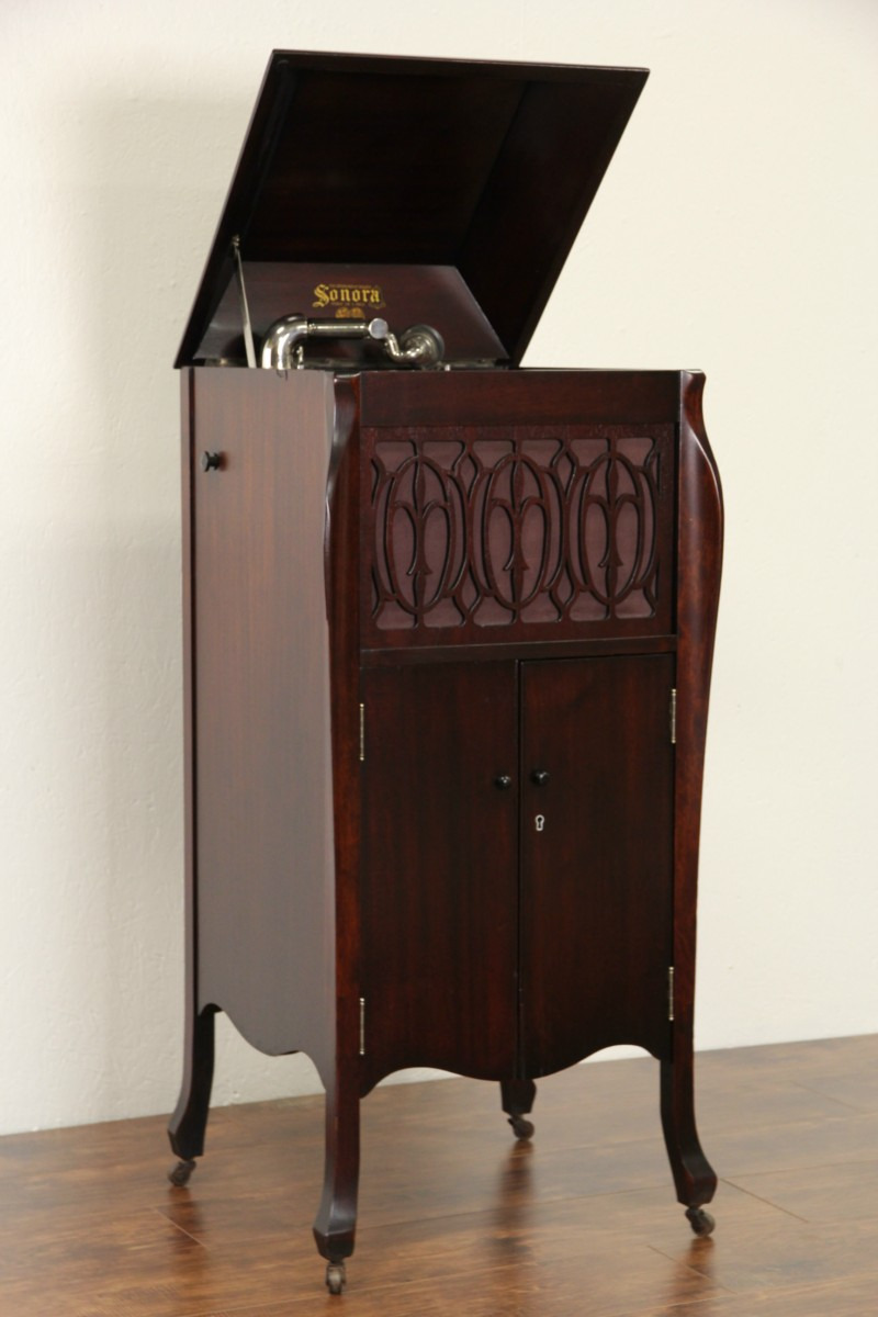 Record Player Furniture Antique Inspirational sonora Windup Antique 1915 Phonograph Record Player