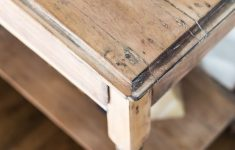 Refinishing Antique Wood Furniture Lovely How To A Raw Wood Look