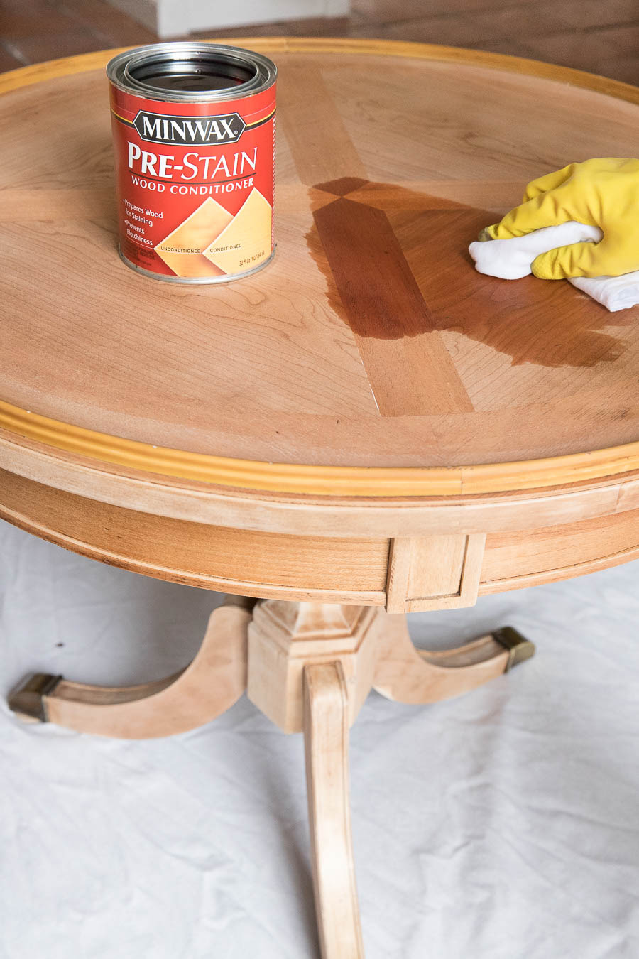 Refinishing Antique Wood Furniture Lovely Refinishing A Table How I Brought My Beat Up End Table Back