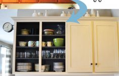 Replacing Kitchen Cabinet Doors Awesome Remove Cabinet Doors Instant Kitchen Update