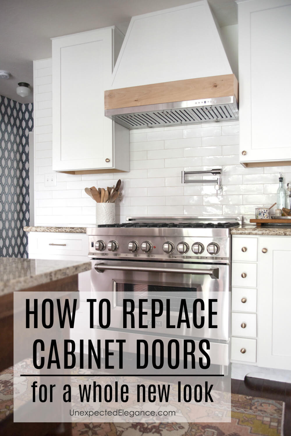 How to replace cabinet doors for a whole new look