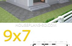 Roof Plans For House Fresh House Plans 9x7 With 2 Bedrooms Hip Roof House Plans 3d