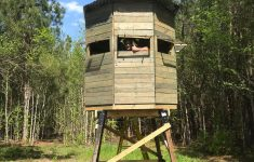 Shooting House Plans Deer Hunting Unique Octaganal Deer Blind On Platform Stand Made From Recycled