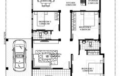 Simple 3 Bedroom House Floor Plans Unique Simple And Elegant Small House Design With 3 Bedrooms And 2
