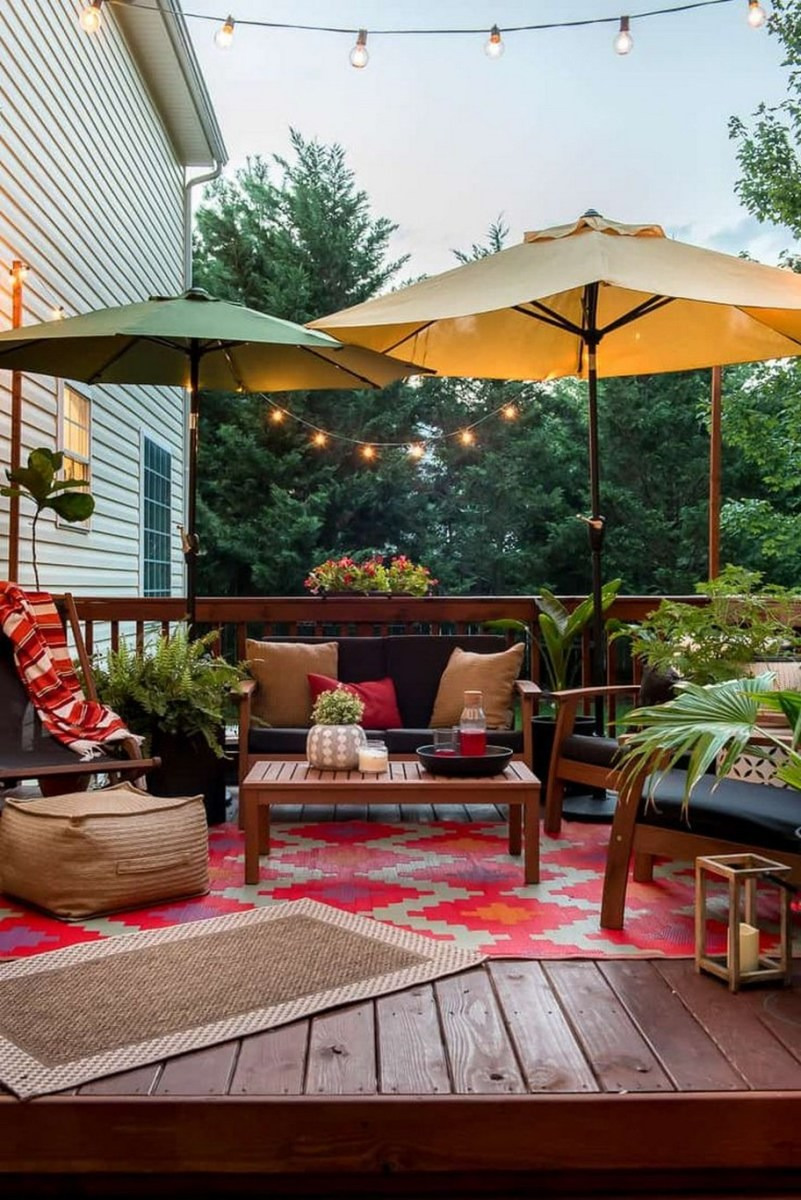 ✔75 terrace designs and decorating ideas that are simple but beautiful 28