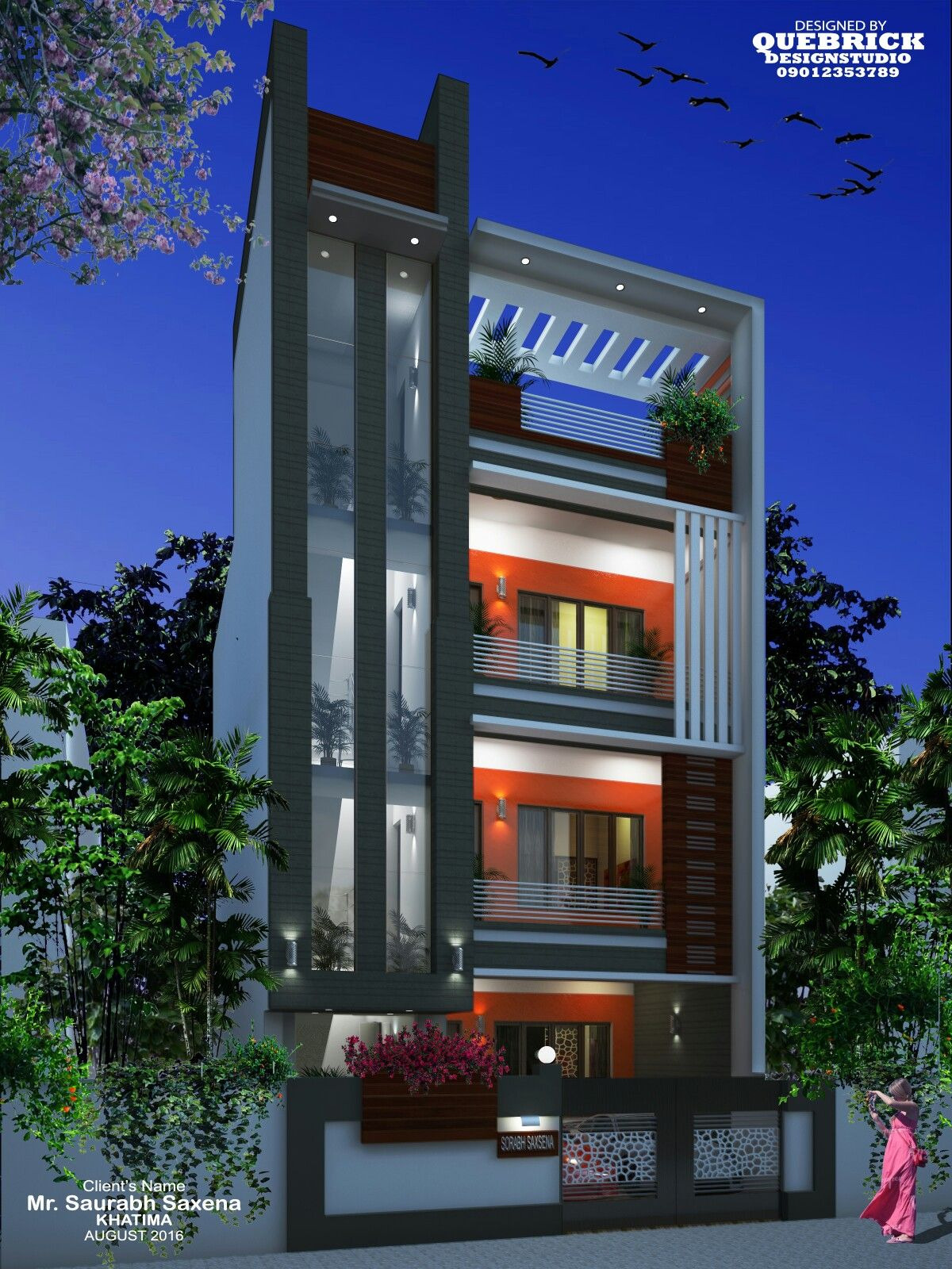 Simple Exterior Design Of House Luxury Front Elevation