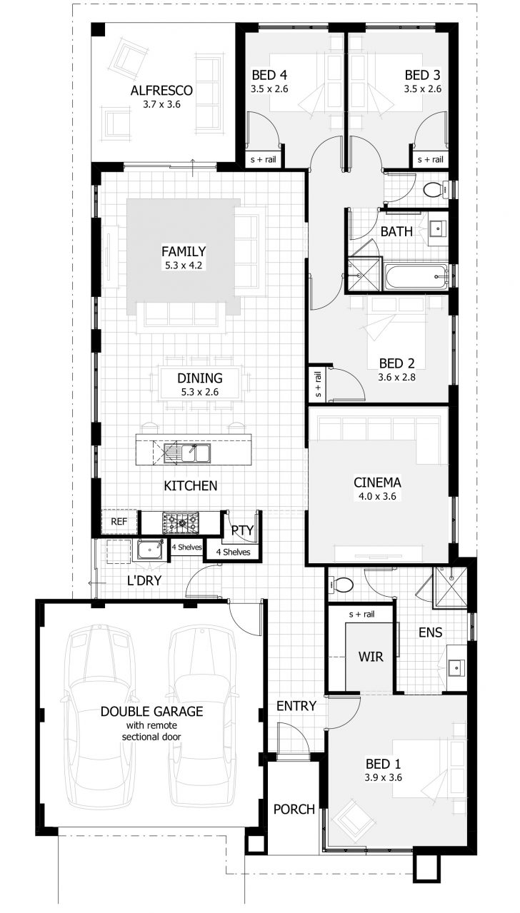 Single Story Small House Plans 2021