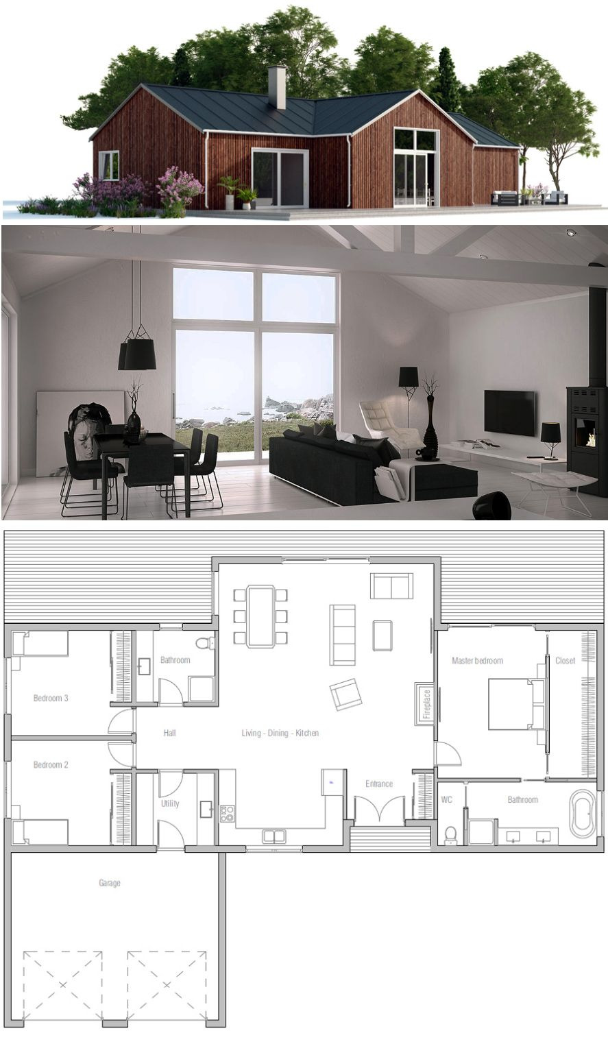 Small Affordable Home Plans Unique Small House Plan …