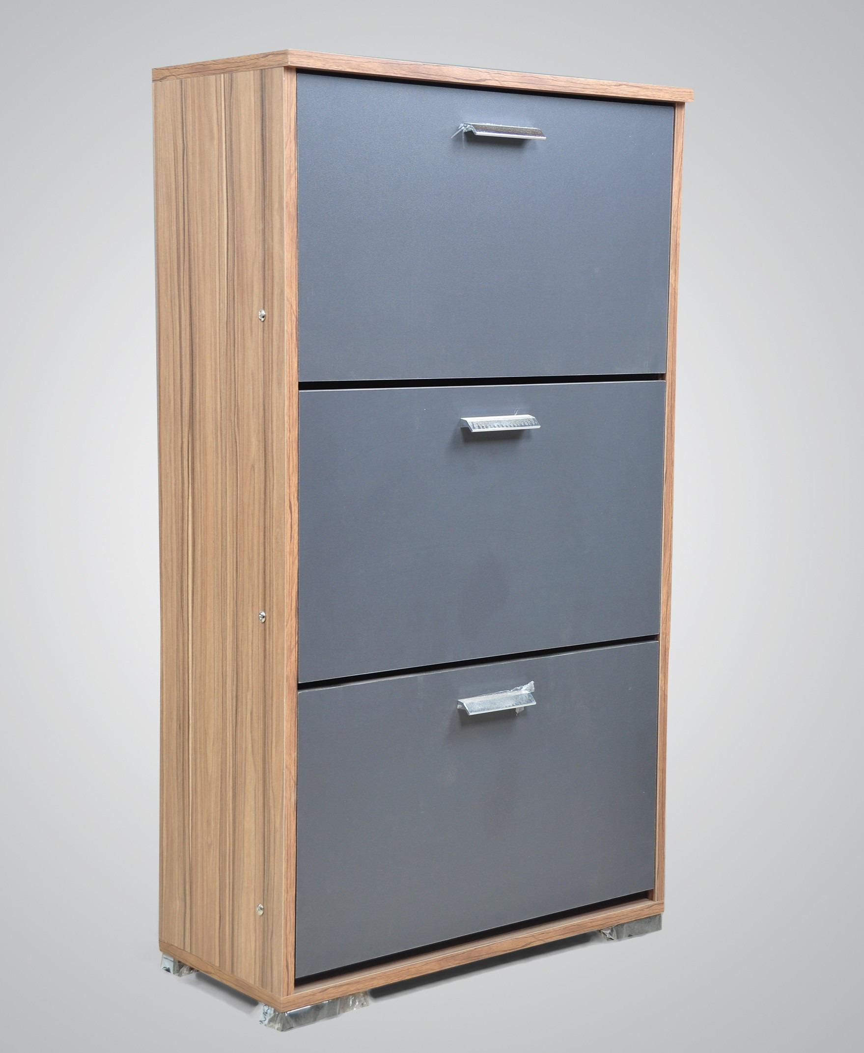 Small Cabinet with Doors Awesome Wood & More Small Shoe Cabinet 3 Doors 63 30 Cm Hazel Sc 3d S H