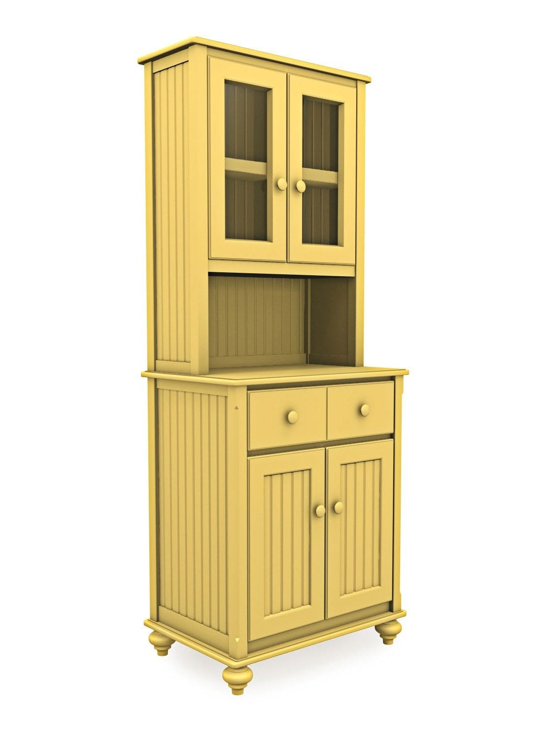 Small Cabinet with Glass Doors Beautiful Small Cottage Cupboard and 2 Door Hutch