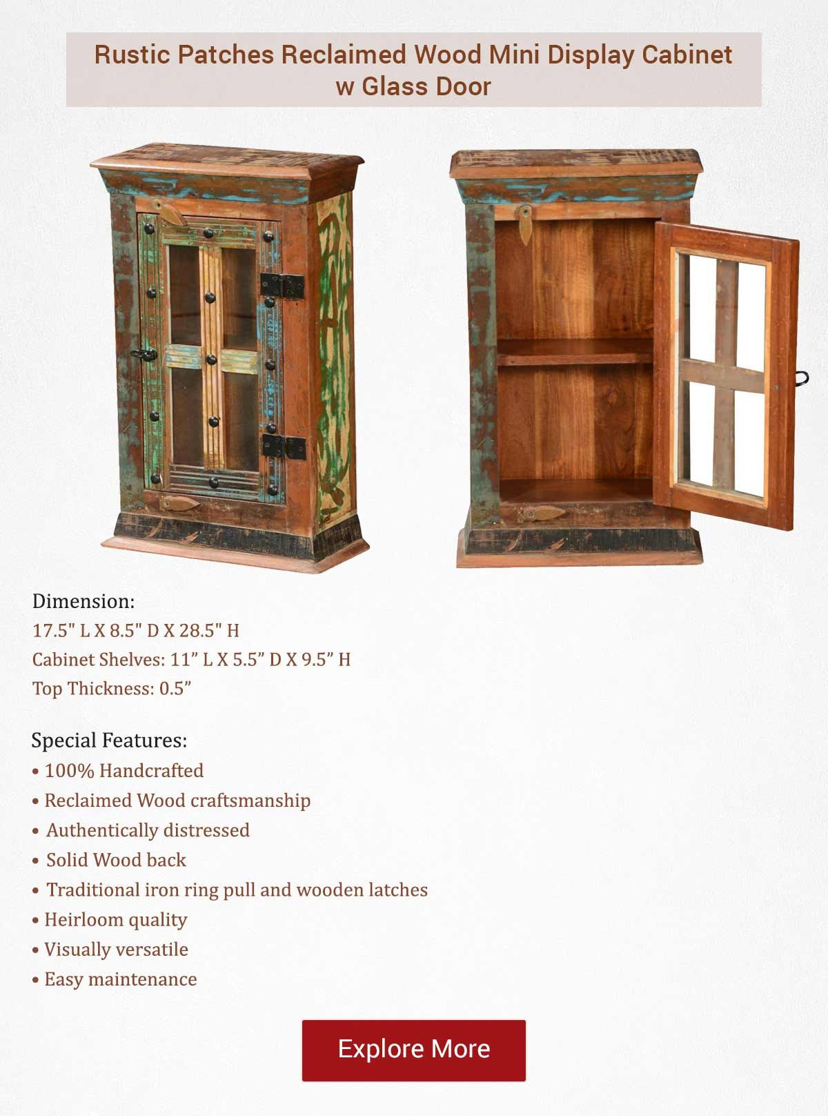 Small Cabinet with Glass Doors Lovely Small Cabinets Can Make A Big Difference Our Rustic Patches