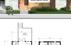 Small Double Story House Plans Unique Craftsman Elliott 1091